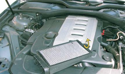 рамки фильтров BMW 7