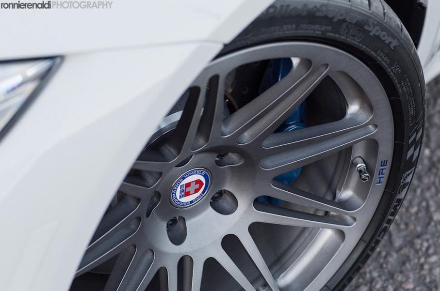 F80 BMW M3 с новыми колесами от HRE Wheels