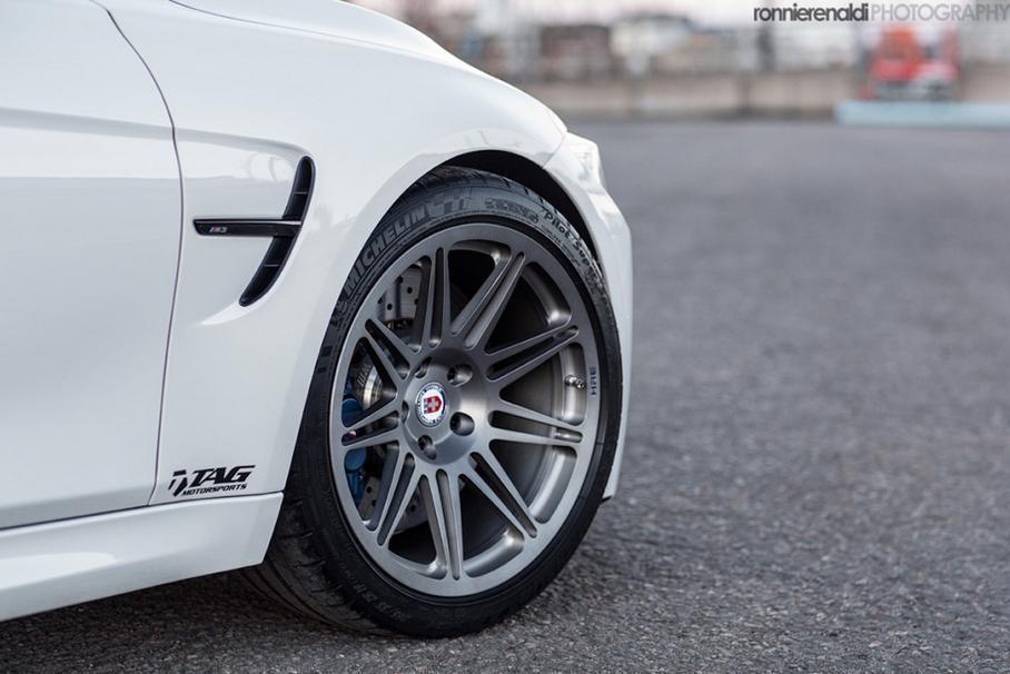 BMW M3 HRE Wheels