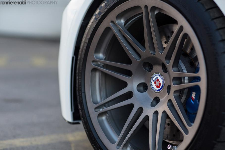F80 BMW M3 HRE Wheels