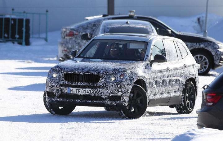 По видимому, следующее поколение BMW X3 xDrive35e будет гибридным