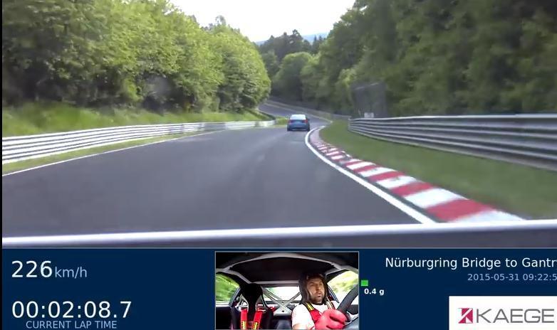 На трассе встретились тюнингованные Porsche 997 GT3 и M3 F80