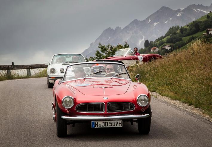 BMW 507 легендарная