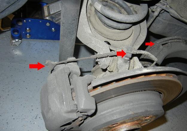 Замена тормозного диска BMW E46(моделей 325i, 330i, 325xi, 330xi)