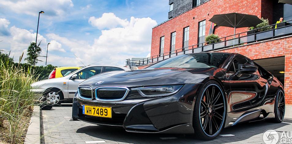 Фотографии новой BMW i8 с тюнингом от AC Schnitzer
