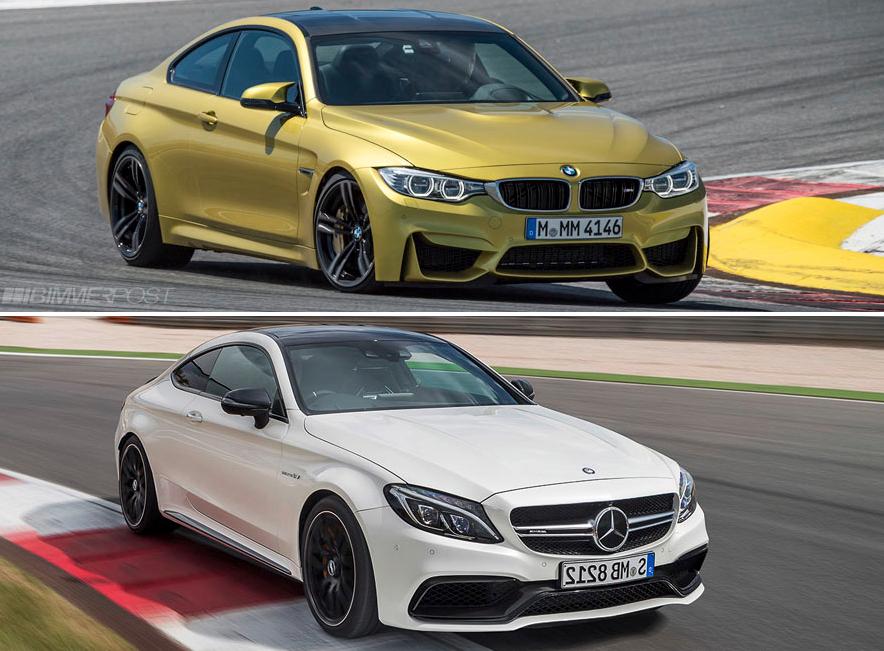фото сравнение BMW и Mercedes