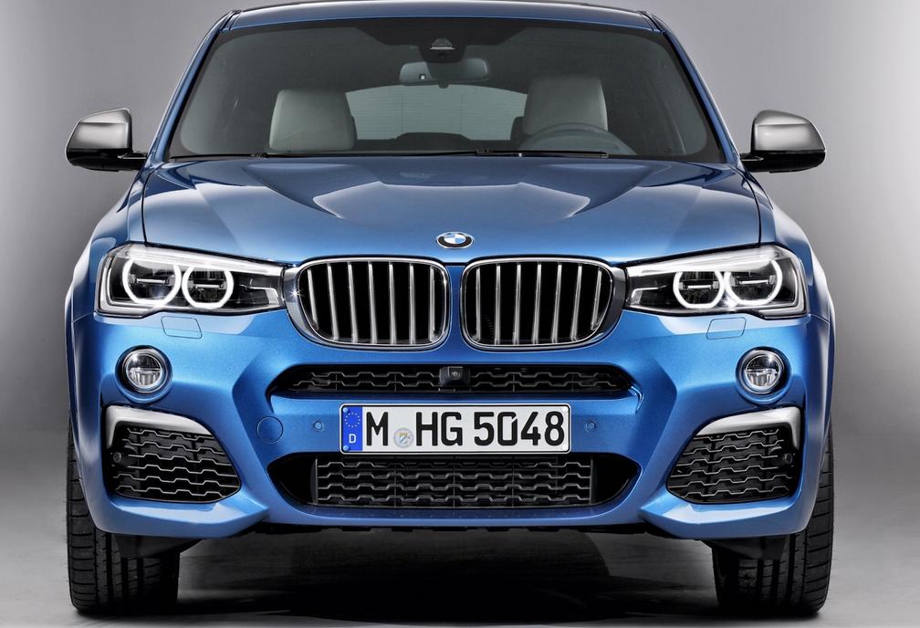 BMW X4 M40i Настоящие фотографии