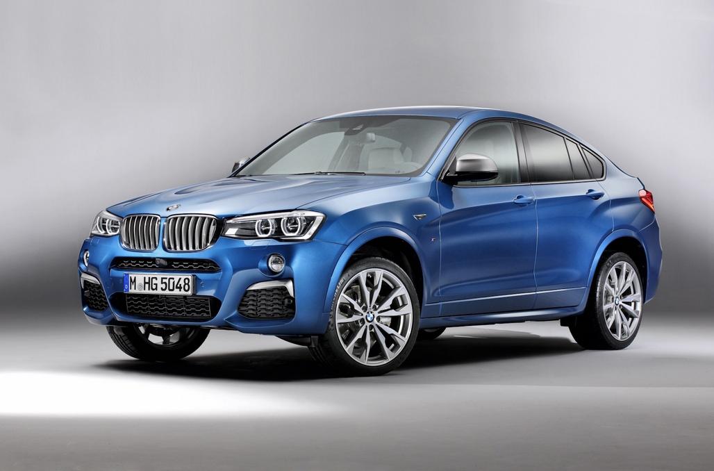 BMW X4 M40i фотгграфия