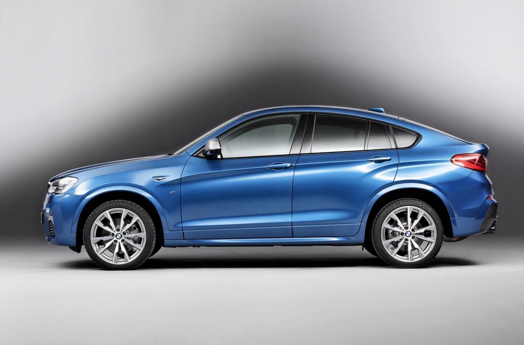 будущий BMW X4 M40i