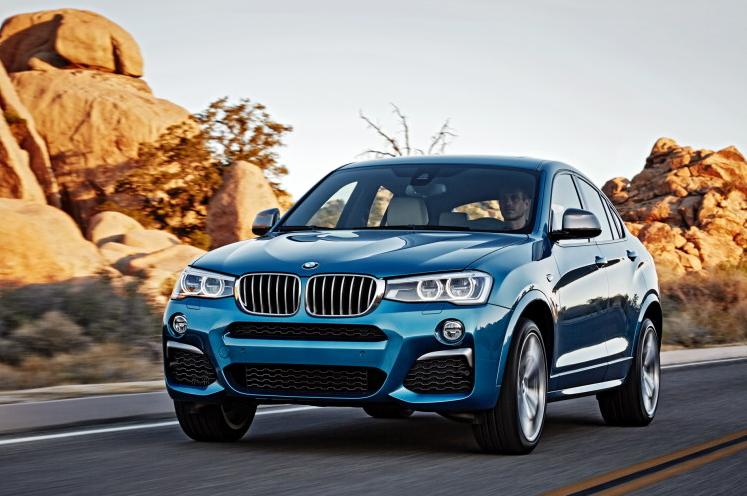 Новый BMW X4 M40i стоит 65 000 евро в Германии