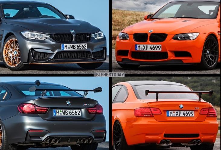 новые BMW M4 GTS и BMW M3 GTS