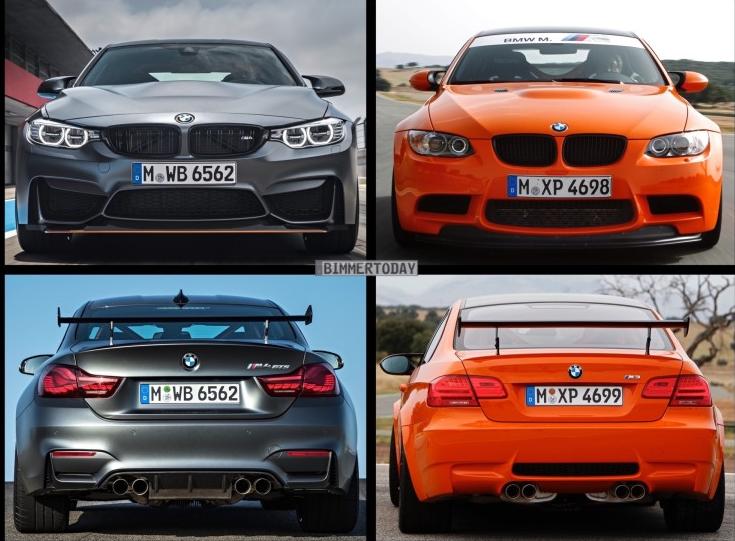 фотографии BMW M4 GTS и BMW M3 GTS