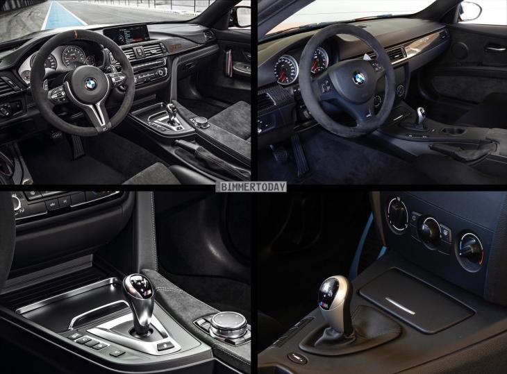 Фото сравнения BMW M4 GTS и BMW M3 GTS