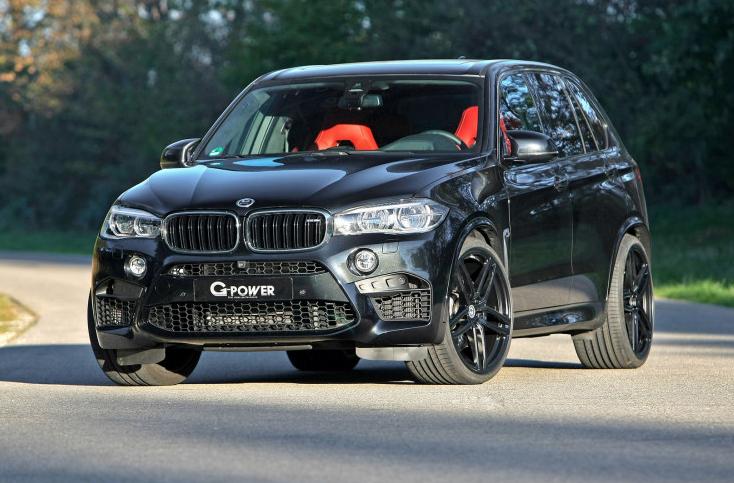 BMW X5 M после тюнинга выдает 700 лошадей