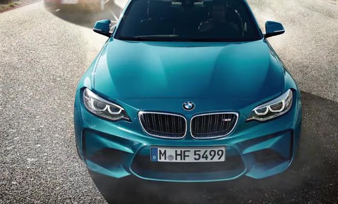 новый BMW M2 и Audi RS3