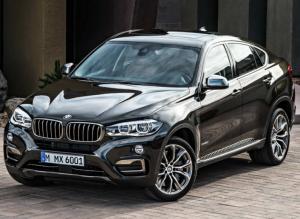 Новое поколения BMW X6