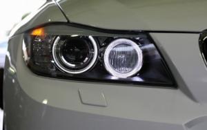 ангельских глазок на e90 BMW