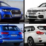 Cравнение характеристик BMW X5 M50D против Audi SQ7 TDI (фотографии)