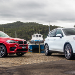 Сравнения нового BMW X5 M и Porsche Cayenne Turbo