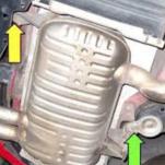 Как снять выхлоп от BMW E90 3 серии 2006-2011 годов