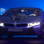 Показан BMW i8 с лазерными фарами