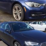 Небольшое сравнение двух конкурентов 2016 года: BMW 328i и Audi A4