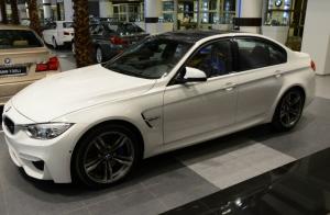 BMW M3 в Abu Dhabi