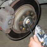 Замена заднего подшипника на ступица BMW E46 — своими руками