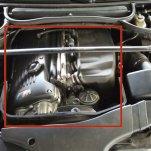 Замена воздушного фильтра на (E46) BMW M3 (2000 — 2006 года)