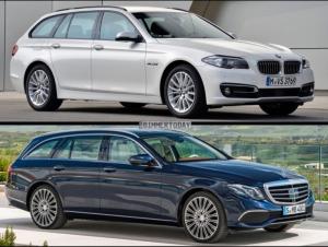 Mercedes-Benz E Class Estate фото сравнение