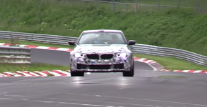 BMW F90 M5 на трассе Нюрбуринг