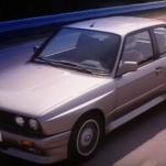 Старая реклама легендарного BMW E30 M3