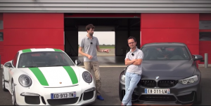 BMW M4 GTS против Porsche 911 R