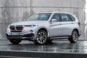 фото BMW X7 2018 года
