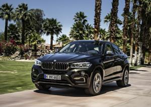 Внешний вид нового BMW x6
