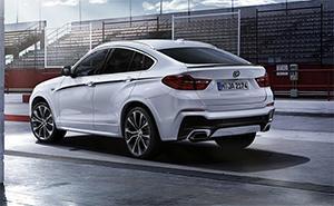 Компактный кроссовер BMW X4