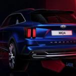 Появился список двигателей нового Kia Sorento