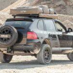 Porsche Cayenne подготовили к путешествую по Африке