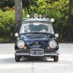 50-летний полицейский Subaru 360 пустят с молотка
