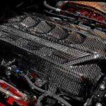 Для Chevrolet Corvette сделали карбоновую крышку мотора