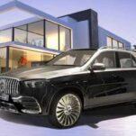 Посмотрите на Mercedes-Benz GLE в стиле Maybach