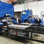 У КамАЗа появится электрический грузовик «Чистогор»