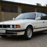 Продается идеальная BMW 7-Series, которая 23 года хранилась у дилера