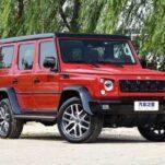 Китайский клон «Гелендевагена» обновился и перешел на мотор V6
