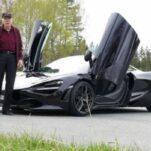Пенсионер купил себе на 78-летие суперкар McLaren, чтобы ездить на нем каждый день