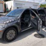 Посмотрите на стимпанковый BMW X6 с обратным механизмом дверей