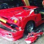 Ведущий Top Gear попал в аварию на коллекционном Lamborghini