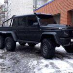 В России копию Mercedes-Benz G 63 6×6 AMG продают в девять раз дешевле оригинала