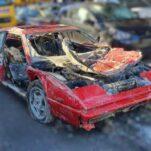 Из канала выловили угнанный 30 лет назад Ferrari Mondial