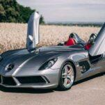 Редчайший Mercedes-Benz SLR Stirling Moss продают на аукционе